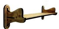 View Craftman Wooden Wall Shelf(Number of Shelves - 1) Furniture (Craftman)
