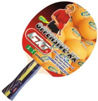 GKI Offensive XX with Wooden Case Red, Black Table Tennis Racquet(Pack of: 1, 350 g)
