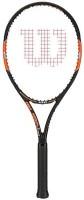 Wilson Burn 100-L3 Black, Orange Unstrung Tennis Racquet(G3 - 4 3/8 Inches, 320 g)