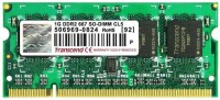 Transcend DDR2-667/PC2-5300 DDR2 1 GB Laptop DRAM (JM667QSU-1G)