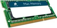 Corsair Mac Memory DDR3 8 GB (Dual Channel) Mac SODIMM (CMSA8GX3M1A1600C11)(Green)