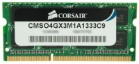 Corsair DDR3 4 GB Laptop DRAM (CMSO4GX3M1A1333C9)