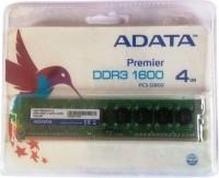 ADATA Premier DDR3 4 GB PC DRAM (AD3U1600W4G11-B/AD3U1600W4G11-R)