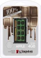Kingston Dominator DDR3 4 GB (Dual Channel) Laptop DRAM (Mac Memory 4GB DDR3L-1600(PC3-12800) SO-DIMM 1.35V (KTA-MB1600L/4GFR))(Green)