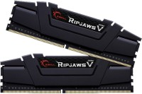G Skills RipjawsV DDR4 16 GB (Dual Channel) PC SDRAM (F4-3600C17D-16GVK)(Black)