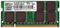 Transcend DDR2-667/PC2-5300 DDR2 2 GB Laptop DRAM (JM667QSU-2G)