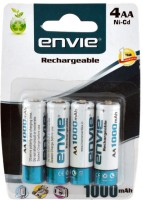 Envie AA 1000 Ni-CD Rechargeable Ni-Cd Battery