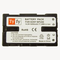 Tyfy BPU60 Rechargeable Li-ion Battery