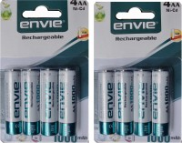 ENVIE AA SIZE 1000 MA (8 PCS..) Rechargeable Ni-Cd Battery