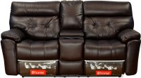 @home by Nilkamal Half-leather Powered Recliners(Finish Color - Brown)