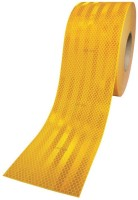 3M Ece 104 Compliant 50.8 mm x 1.21 m Yellow Reflective Tape(Pack of 1)