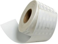 3M High Intensity Conspicuity 50.8 mm x 0.609 m White Reflective Tape(Pack of 1)