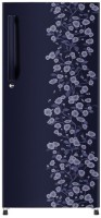 Haier 195 L Direct Cool Single Door Refrigerator(Blue Daisy, HRD-1954CBD-R/E)