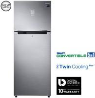 Samsung 476 L Frost Free Double Door 3 Star Refrigerator(Refined Inox, RT49K6758S9)