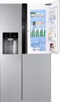 LG 659 L Frost Free Side by Side 3 Star Refrigerator(Noble Steel, GC-J237JSNV)
