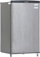 Videocon 80 L Direct Cool Single Door 1 Star Refrigerator(Silver Hairline, VC091PSH-HDW)