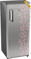 View Whirlpool 200 L Direct Cool Single Door 4 Star Refrigerator(Silver Bliss, 215 ICEMAGIC PRM 4S)  Price Online