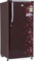 GEM 200 L Direct Cool Single Door 4 Star Refrigerator(PCM Floral (Spicy Red), GRDN-2304 SRTP)