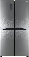 LG 725 L Frost Free Side by Side Refrigerator(Shiny Mosaic, GR-M24FWAHL)