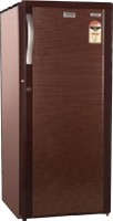 Electrolux 170 L Direct Cool Single Door 2 Star Refrigerator(Burgundy Stripes, EB183P)