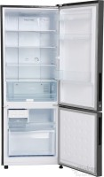 Haier 320 L Frost Free Double Door 2 Star Refrigerator(Brushline Silver, HRB-3403BS-H)