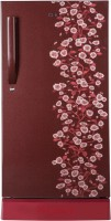 Haier 220 L Direct Cool Single Door 4 Star Refrigerator(Red, HRD-2204PRD-R/E)