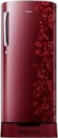 Samsung 192 L Direct Cool Single Door 1 Star Refrigerator(Scarlet Red, RR19J20C3RH/NL,RR19H10C3RH/TL