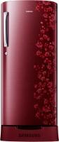 SAMSUNG 212 L Direct Cool Single Door 5 Star Refrigerator(Orcherry Garnet Red, RR21J2835RX/TL)