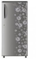 Panasonic 190 L Direct Cool Single Door 4 Star Refrigerator(Grey Floral, NR-A195STGFP)