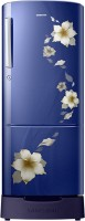 Samsung 212 L Direct Cool Single Door 5 Star Refrigerator(Star Flower Blue, RR22K287ZU2)
