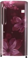 LG 215 L Direct Cool Single Door Refrigerator(Scarlet Orchid, GL-B221ASOX)