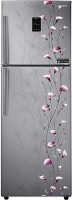 SAMSUNG 321 L Frost Free Double Door 4 Star Refrigerator(Tender Lily Silver, RT33JSMFESZ/TL)