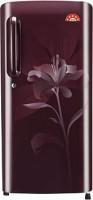 LG 235 L Direct Cool Single Door 5 Star Refrigerator(Scarlet Lily, GL-B241ASLT)