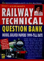 Railway Technical Question Bank Model Solved Papers 1999 ? Till Date(Paperback, Think Tank of Kiran Prakashan)