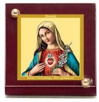 Sitare Mary Diviniti Gold Photo Religious Frame