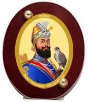Sitare Guru Govind 24 ct. Gold Foil Diviniti Photo Religious Frame
