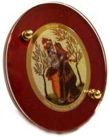 Sitare Radha Krishna Diviniti 24 ct. Gold Foil Photo Frame Religious Frame