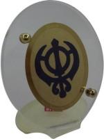 Sitare Khanda Saheb Diviniti Gold Photo Religious Frame