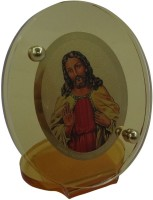 Sitare Jesus Divinite Gold Photo Religious Frame