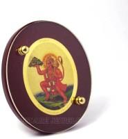 Sitare Lord Hanuman Mountain 24 ct Gold Foil Photo Diviniti Religious Frame