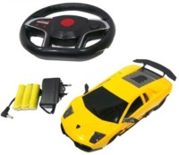 KTS khalsa toys and sales Gravity Sensing Remote Control Steering car 1:22 (Yellow)(Red)