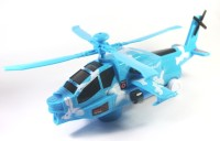Little Grin Victor Combat Military Helicopter(Beige, Blue)