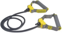 REEBOK Studio Adjustable Resistance Tube Level - 2 Resistance Tube(Black, Yellow)