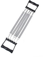Zheng 5 Steel Spring Heavy Duty Chest Expander Resistance Tube(Silver)