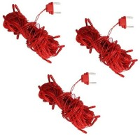 MDI 394 inch Red Rice Lights(Pack of 3)