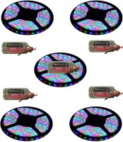 I Play 196 inch Red, Green, Blue Rice Lights(Pack of 1)