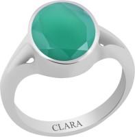 CLARA Certified Haqiq 9.3 cts or 10.25 ratti Zoya Sterling Silver Onyx Ring