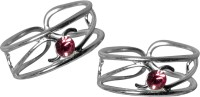 abhooshan Sterling Silver Sterling Silver Plated Toe Ring Set