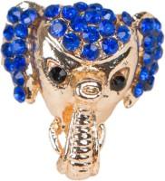 Taj Pearl Ganesha Alloy Ring