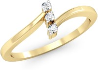 Kataria Jewellers The Fayme BIS Hallmarked Gold 14kt Diamond Yellow Gold ring